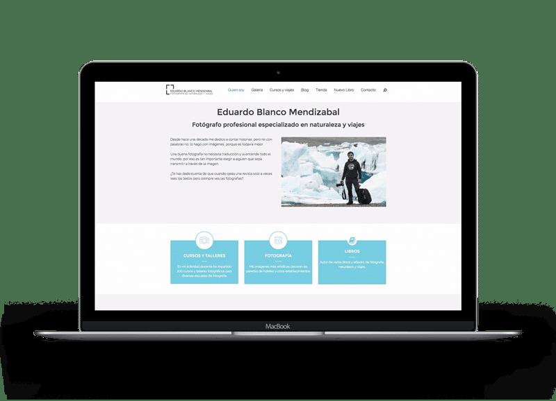 Diseño de páginas Web para fotógrafos 8