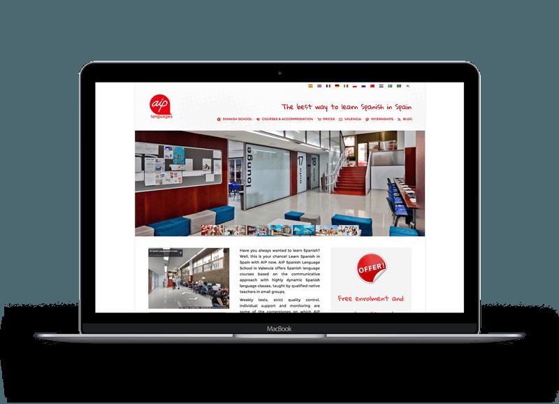 Diseño de páginas Web para fotógrafos 6